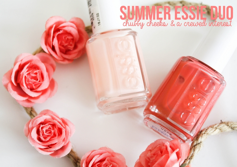 Summer Essie duo: Chubby Cheeks & A Crewed Interest ... A Crewed Interest Essie