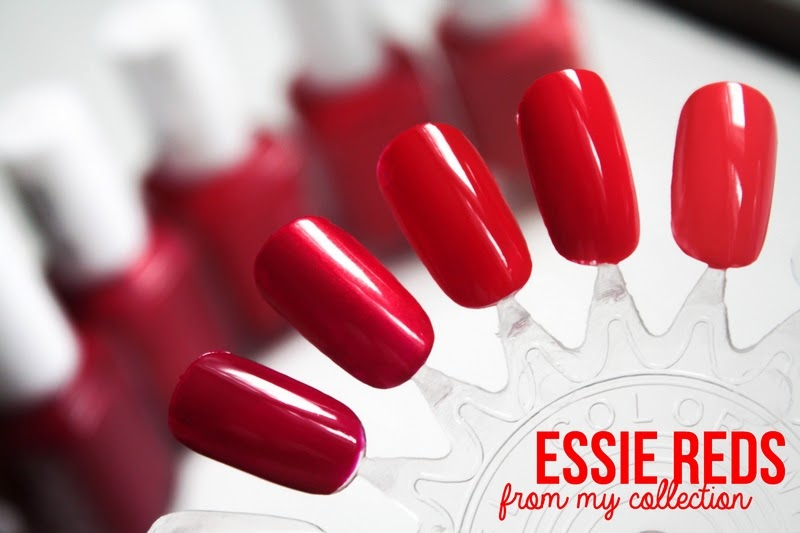 Essie reds: my collection - Cityscape Bliss