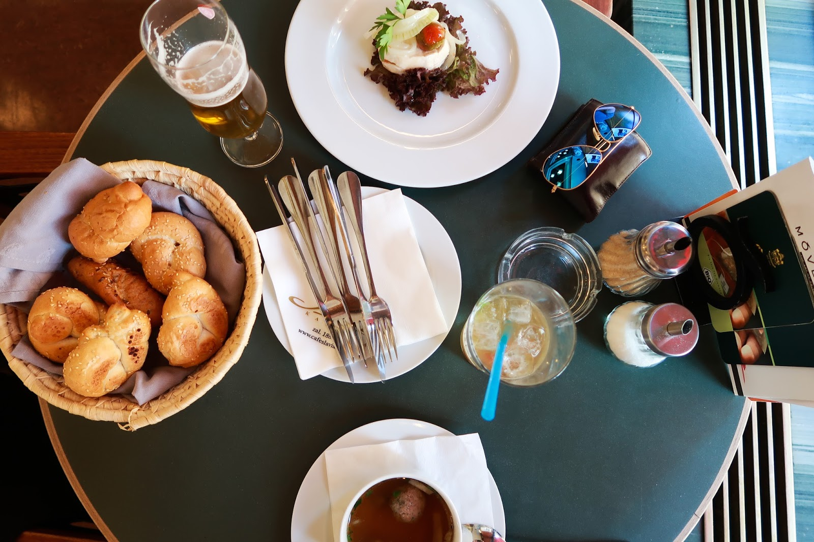 Prague's best known cafe: Cafe Slavia review