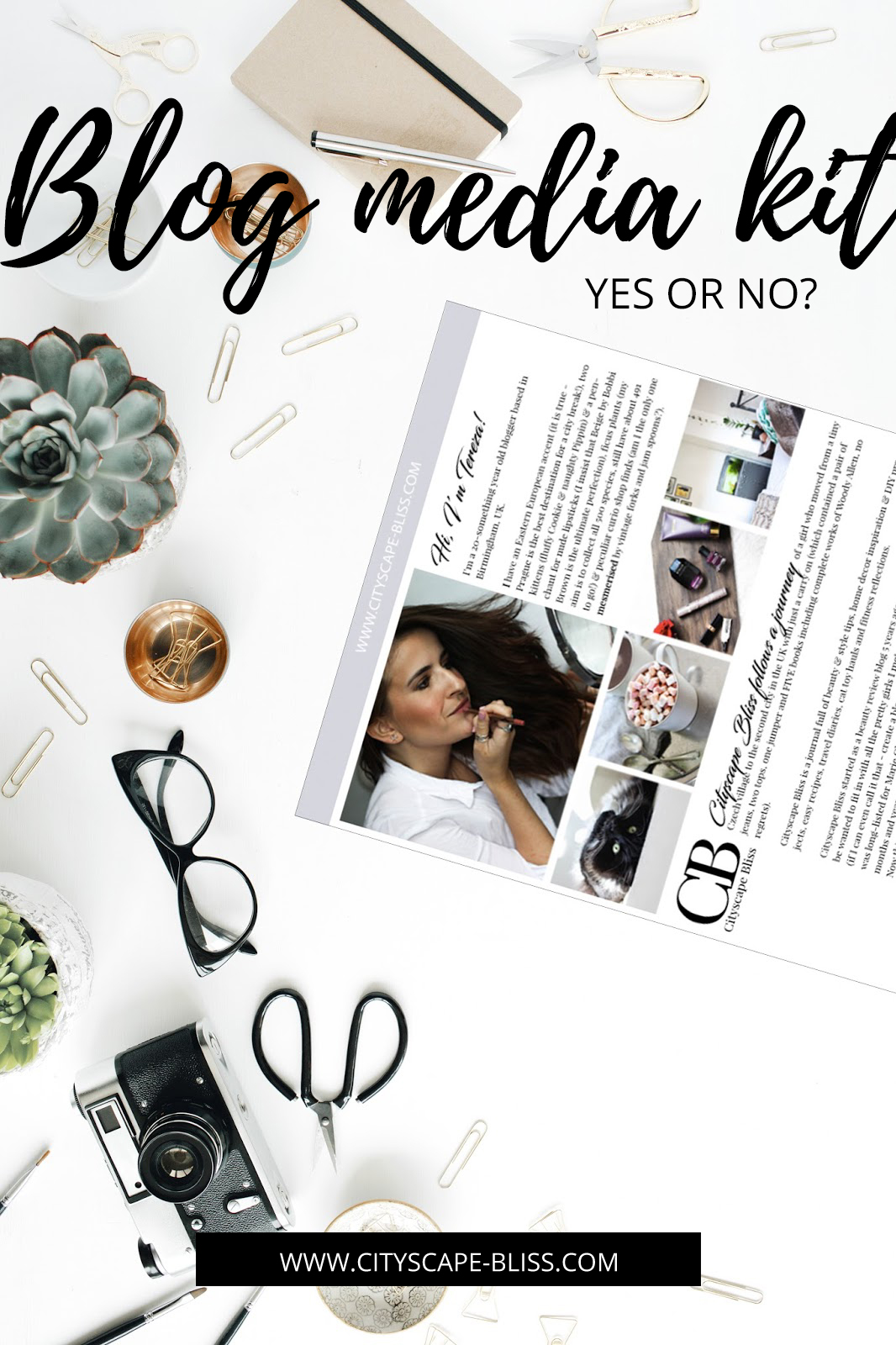 Blog media kit - why bloggers need a media kit?