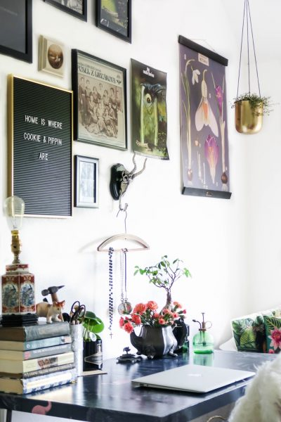 How I've created a stimulating workspace at home