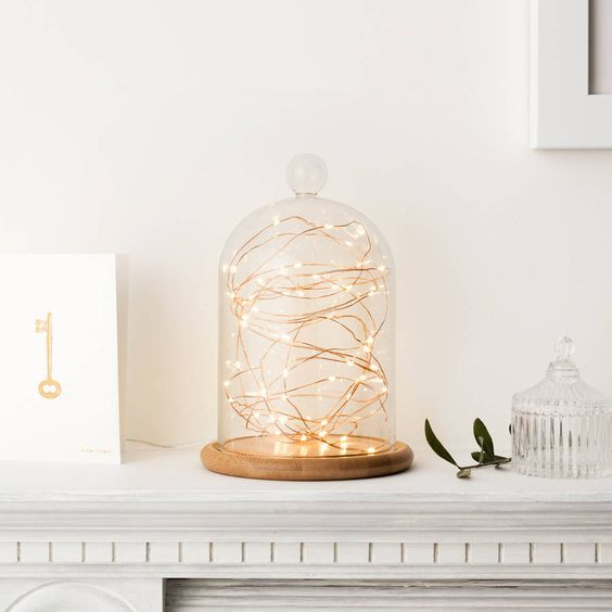 5 ways to decorate with a glass dome