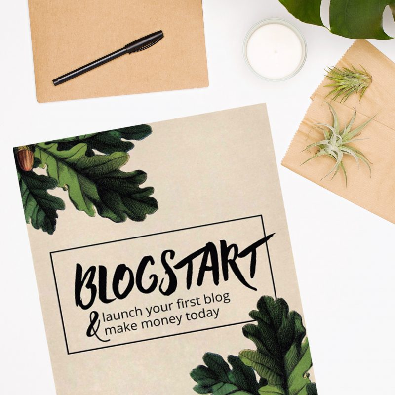 Blogstart ebook