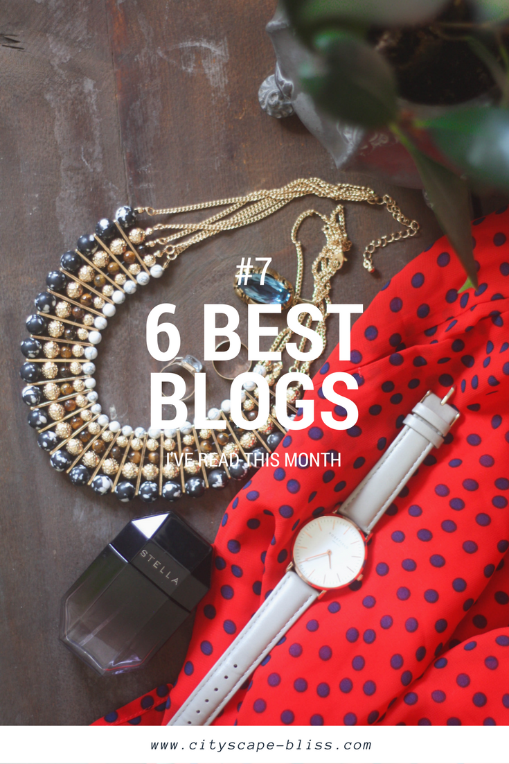 Favourite blogs July 2017
