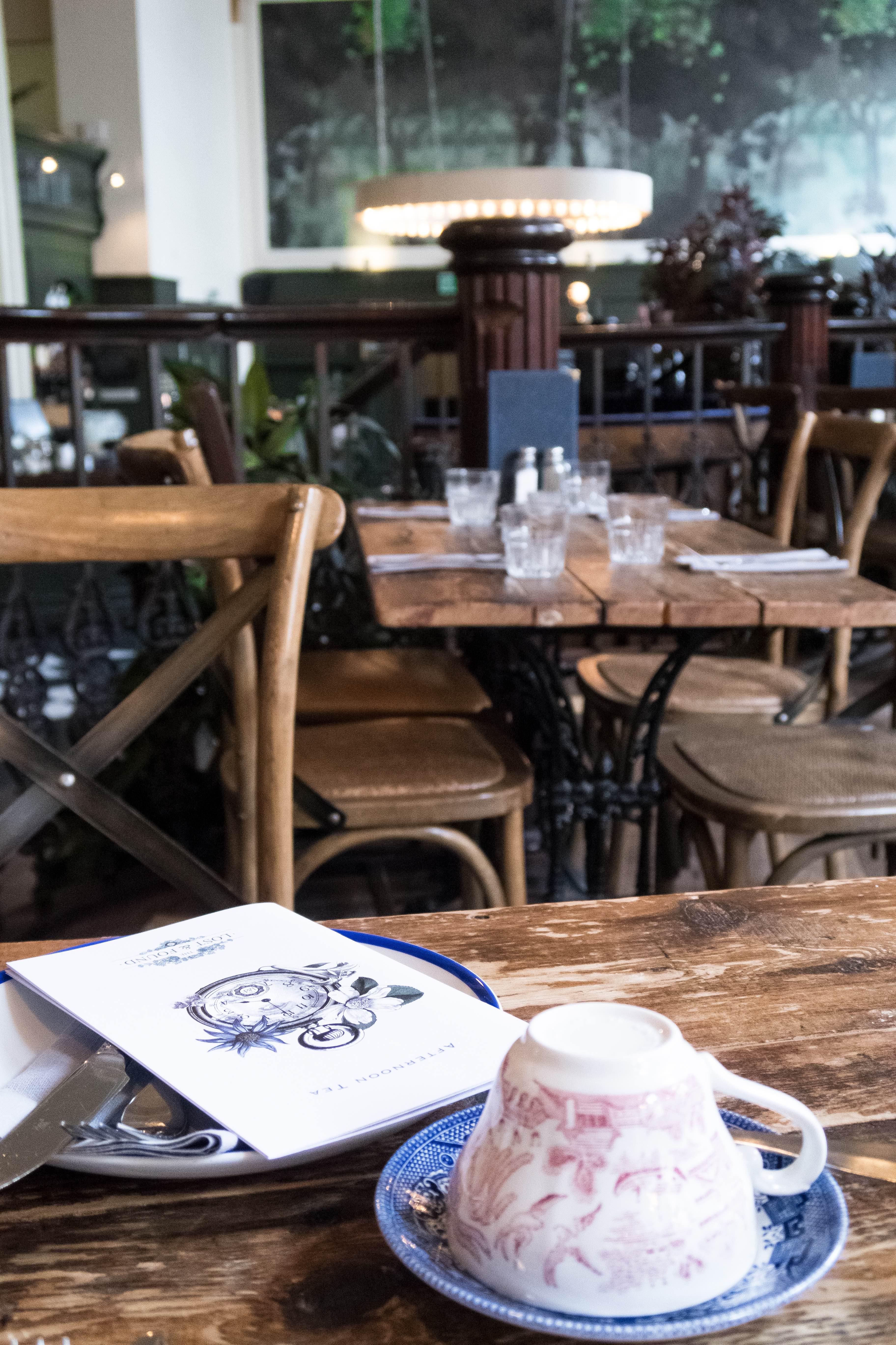 Afternoon tea at Lost & Found, Birmingham