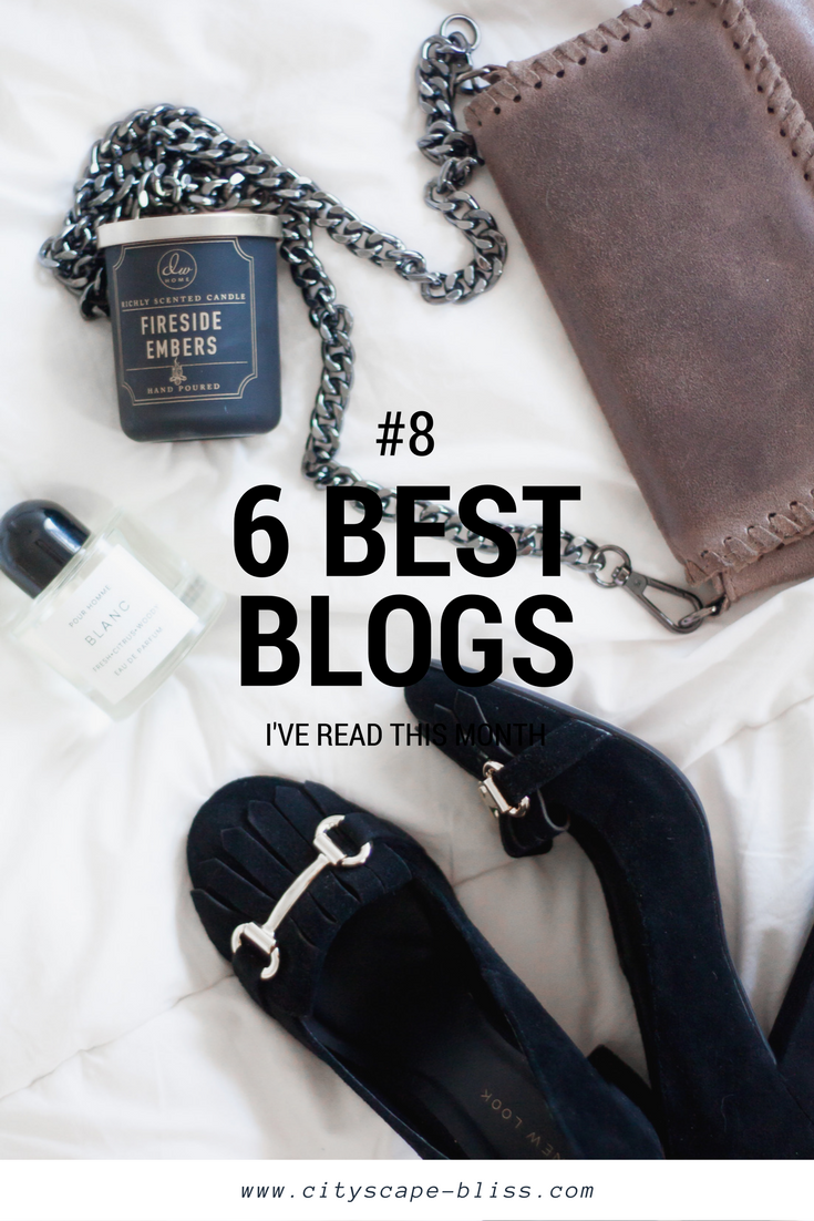 6 blogs I've actually read in July