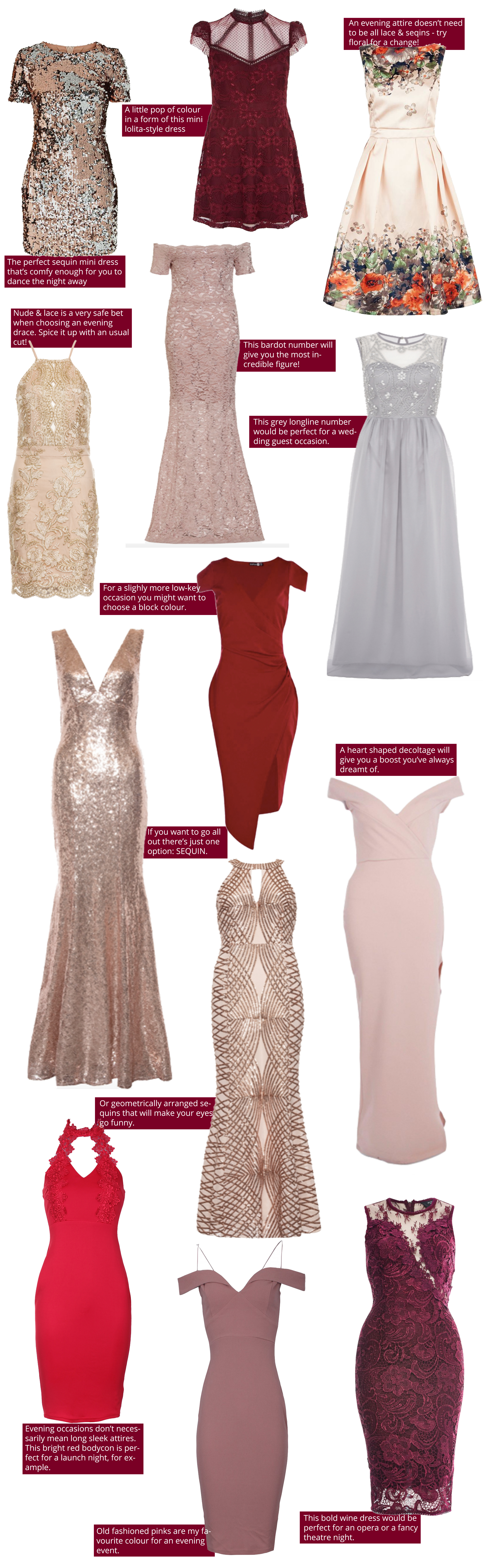 13 evening dresses for this party season