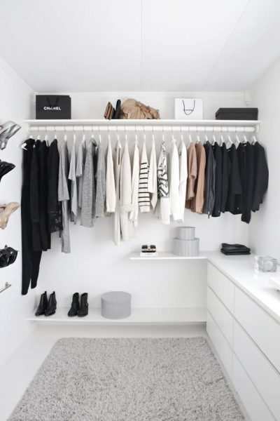 How to organise your wardrobe for easier outfit planning