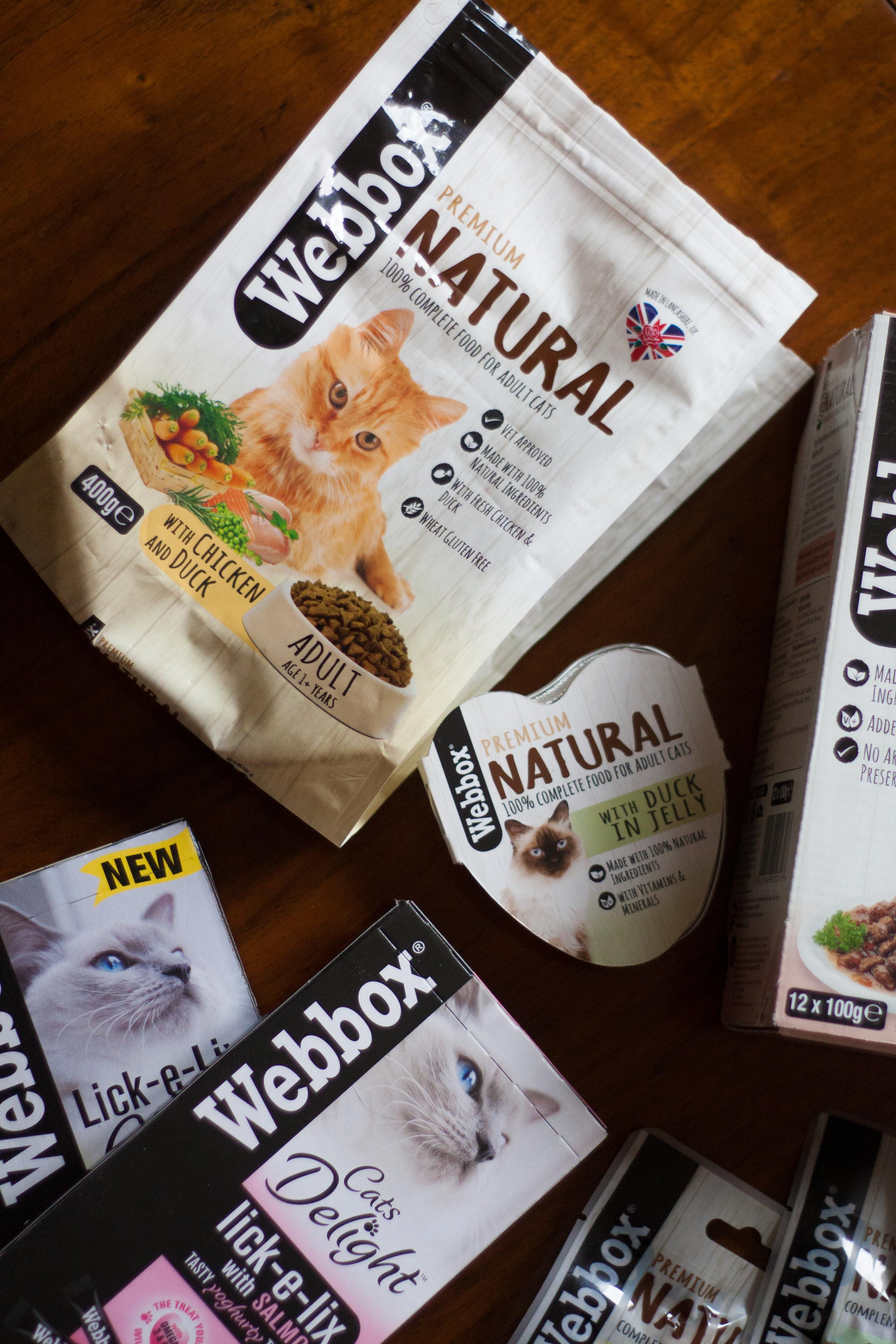 Feline Foodology: Webbox natural cat food range review