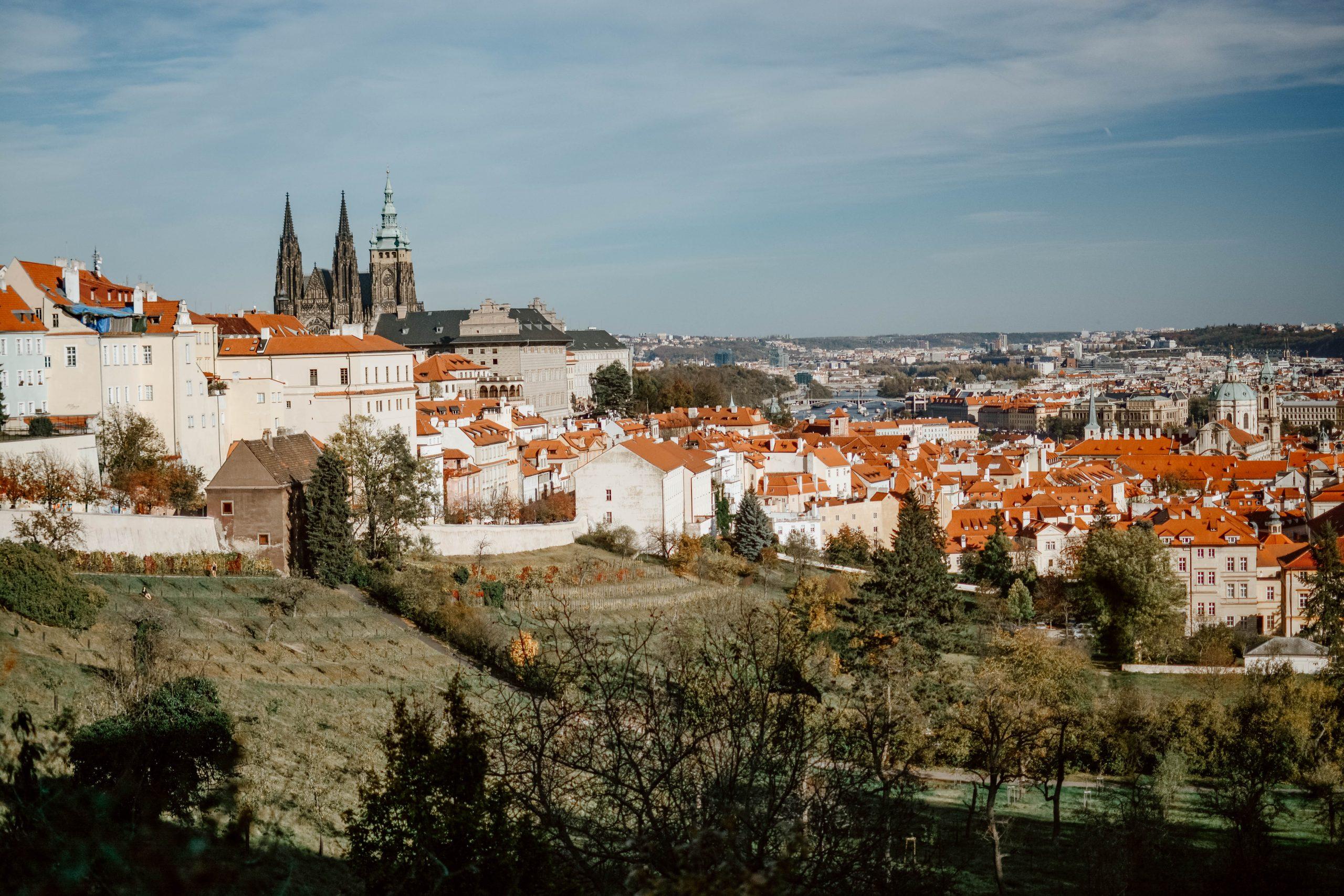 Cityscape Bliss Prague