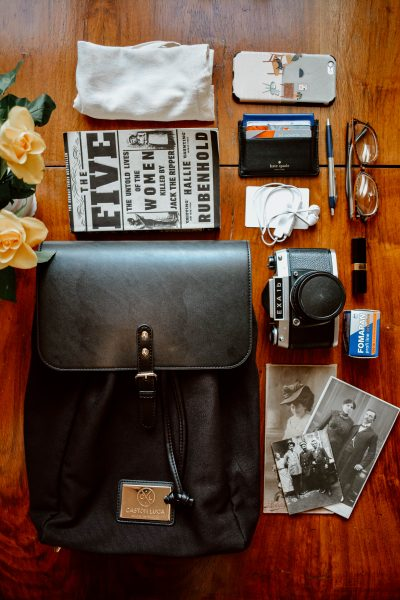 Living with intention: What's in my backpack?